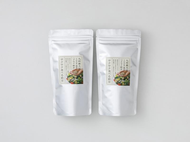 サクサク食べる納豆100g×2個セット