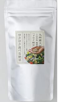 サクサク食べる納豆